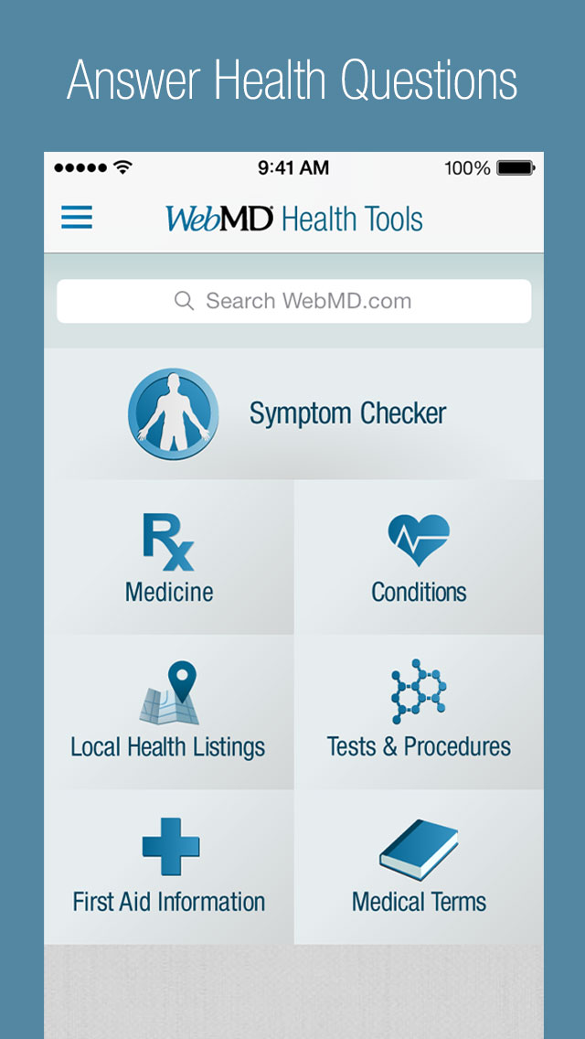 WebMD for iPhone